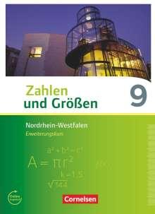 Bernhard Bonus: Zahlen und Größen 9. Schuljahr - Nordrhein-Westfalen Kernlehrpläne - Erweiterungskurs - Schülerbuch, Buch
