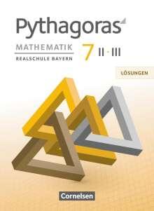 Franz Babl: Pythagoras 7. Jahrgangsstufe (WPF II/III) - Lösungen zum Schülerbuch, Buch
