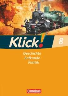 Christine Fink: Klick! Geschichte, Erdkunde, Politik - Westliche Bundesländer - 8. Schuljahr, Buch