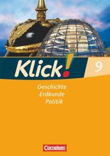 Silke Weise: Klick! 9. Schuljahr. Arbeitsheft. Geschichte, Erdkunde, Politik. Westliche Bundesländer, Buch