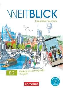 Nadja Bajerski: Weitblick B2: Gesamtband - Kursbuch, 2 Bücher