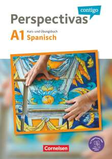 Gloria Bürsgens: Perspectivas contigo A1 - Kurs- und Übungsbuch mit Vokabeltaschenbuch, 2 Bücher
