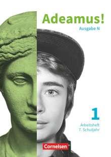 Adeamus! - Ausgabe N Band 1 - Latein als 2. Fremdsprache - Arbeitsheft, Buch