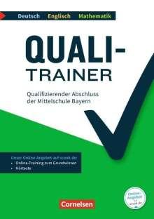Gwen Berwick: Quali-Trainer Deutsch/Englisch/Mathematik - Bayern / Qualifizierender Abschluss der Mittelschule 9. Jahrgangsstufe, 3 Bücher