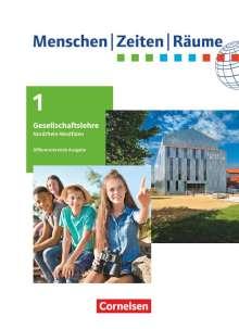 Alexander Figge: Menschen-Zeiten-Räume 5./6. Schuljahr. Nordrhein-Westfalen ab 2020 - Schülerbuch, Buch