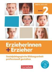 Frauke Dasenbrock: Erzieherinnen + Erzieher. Band 2 - Professionelles Handeln im sozialpädagogischen Berufsfeld, Buch