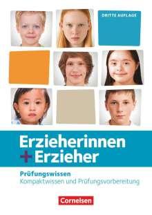 Caroline Grybeck: Erzieherinnen + Erzieher. Zu allen Bänden - Prüfungswissen. Schülerbuch, Buch