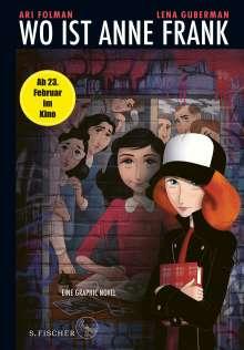 Ari Folman: Kittys Tagebuch: Wo ist Anne Frank? Eine Graphic Novel, Buch