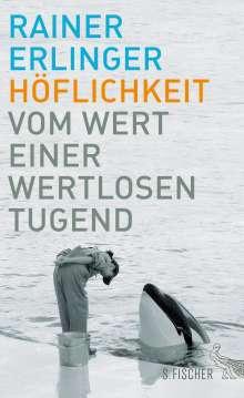Rainer Erlinger: Höflichkeit, Buch