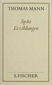 Thomas Mann: Späte Erzählungen, Buch