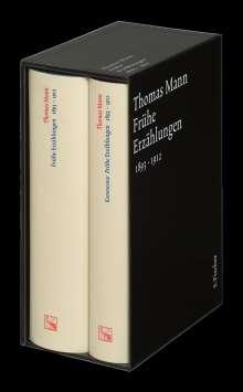 Thomas Mann: Frühe Erzählungen. Große kommentierte Frankfurter Ausgabe, Buch