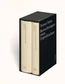 Thomas Mann: Betrachtungen eines Unpolitischen. Große kommentierte Frankfurter Ausgabe, Buch