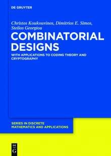 Stelios Georgiou: Combinatorial Designs, Buch