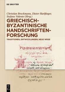 Griechisch-byzantinische Handschriftenforschung, 2 Bücher
