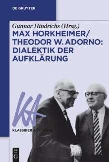 Max Horkheimer/Theodor W. Adorno: Dialektik der Aufklärung, Buch