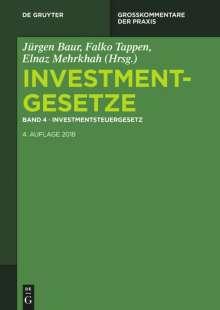 Investmentgesetze 4. Investmentsteuergesetz, Buch