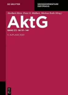 Aktiengesetz Band 7/2: §§ 131-146, Buch