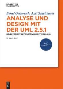 Bernd Oestereich: Analyse und Design mit der UML 2.5.1, Buch