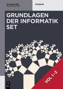 Heinz-Peter Gumm: [Set Grundlagen der Informatik, Vol 1-3], Buch