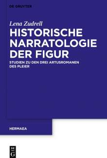 Lena Zudrell: Historische Narratologie der Figur, Buch