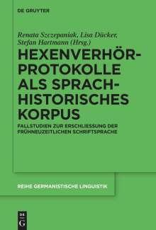Hexenverhörprotokolle als sprachhistorisches Korpus, Buch