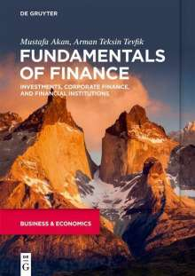 Mustafa Akan: Fundamentals of Finance, Buch