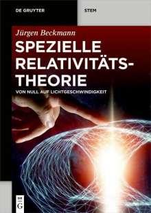 Jürgen Beckmann: Spezielle Relativitätstheorie, Buch