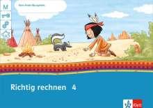 Mein Indianerheft. Richtig rechnen 4. Arbeitsheft 4. Schuljahr, Buch