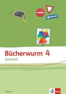 Bücherwurm Sachheft. Arbeitsheft 4. Schuljahr für Thüringen, Buch