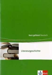 Walter Göbel: Literaturgeschichte. 8 - 12./13. Schuljahr, Buch