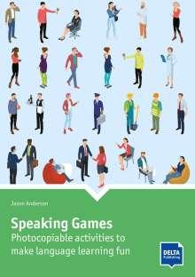 Jason Anderson: Speaking Games, Buch