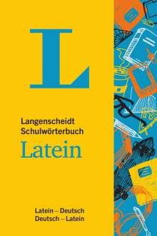Langenscheidt Schulwörterbuch Latein - Mit Info-Fenstern zu Wortschatz & römischem Leben, Buch