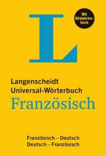 Langenscheidt Universal-Wörterbuch Französisch - mit Bildwörterbuch, Buch