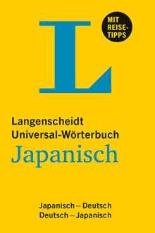Langenscheidt Universal-Wörterbuch Japanisch, Buch