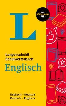 Langenscheidt Schulwörterbuch Englisch, 1 Buch und 1 Diverse