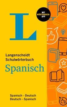 Langenscheidt Schulwörterbuch Spanisch, 1 Buch und 1 Diverse