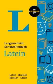Langenscheidt Schulwörterbuch Latein, 1 Buch und 1 Diverse