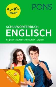 PONS Schulwörterbuch Englisch, 1 Buch und 1 Diverse