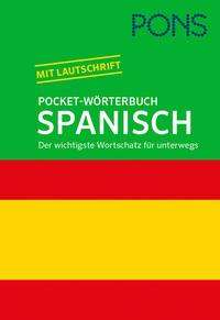 PONS Pocket-Wörterbuch Spanisch, Buch