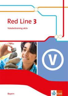 Red Line 3. Vokabeltraining aktiv Klasse 7. Ausgabe Bayern, Buch