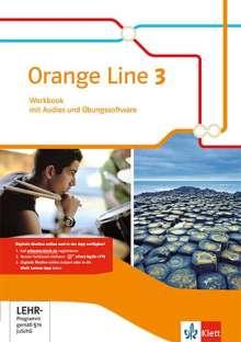 Orange Line 3. Workbook mit Audio-CD und Übungssoftware. Kl. 7. Ausgabe 2014, 1 Buch und 1 Diverse