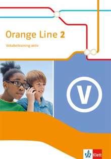 Orange Line 2. Vokabeltraining aktiv. Klasse 6, Buch