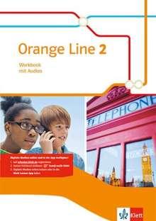 Orange Line 2. Workbook mit Audio-CD, 1 Buch und 1 Diverse