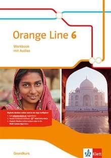 Orange Line 6 Grundkurs. Workbook mit Audio-CD Klasse 10, 1 Buch und 1 Diverse