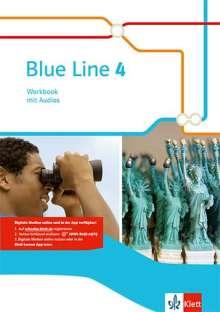 Blue Line 4. Workbook mit Audio-CD. Klasse 8. Ausgabe 2014, 1 Buch und 1 Diverse