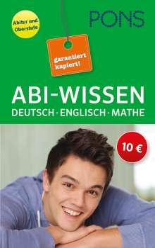 Abi-Wissen Deutsch, Mathematik, Englisch, Buch