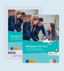 Birgit Braun: Kompass DaF B2.2 - Media Bundle, 1 Buch und 1 Diverse