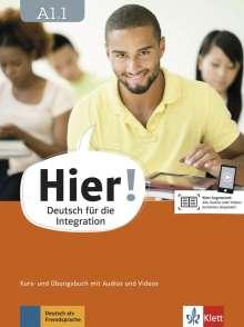 Alexis Feldmeier García: Hier! A1.1. Kurs- und Übungsbuch mit Audios und Videos, Buch