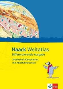 Haack Weltatlas Differenzierende Ausgabe. Arbeitsheft Kartenlesen mit Atlasführerschein Klasse 5, Buch