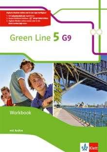 Green Line 5 (G9) Workbook mit  Audio CD. Klasse 9, 1 Buch und 1 Diverse